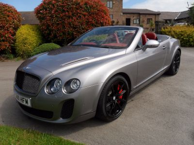 Bentley Continental GTC 6.0 W12 Supersports 2dr Auto Convertible Petrol SilverBentley Continental GTC 6.0 W12 Supersports 2dr Auto Convertible Petrol Silver at D & E Parker Sheffield