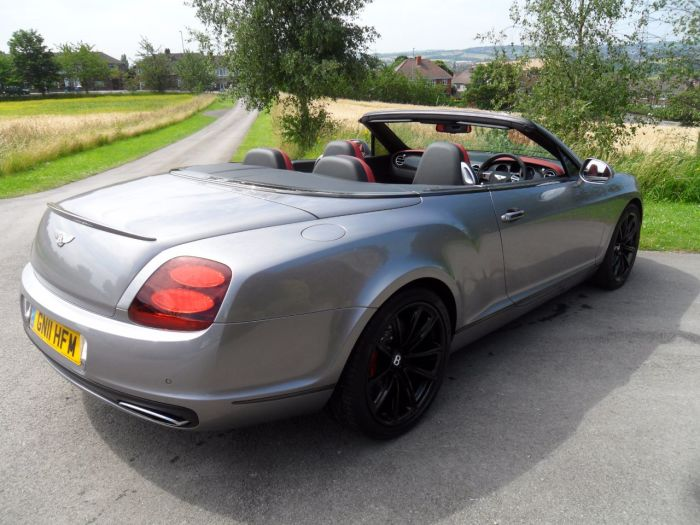 Bentley Continental GTC 6.0 W12 Supersports 2dr Auto Convertible Petrol Silver