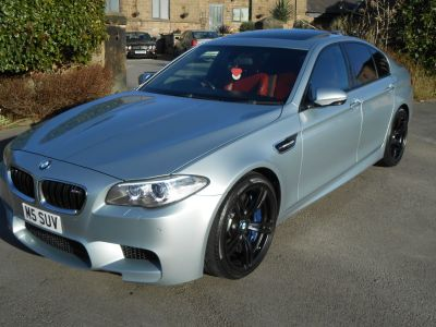 BMW M5 4.4 M5 4dr DCT Saloon Petrol BlueBMW M5 4.4 M5 4dr DCT Saloon Petrol Blue at D & E Parker Sheffield